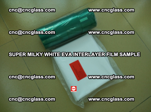 Super Milky White EVA FILM for safety glass, EVAVISION (72)