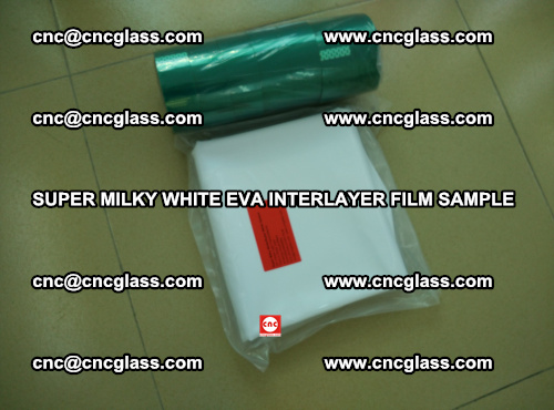 Super Milky White EVA FILM for safety glass, EVAVISION (75)