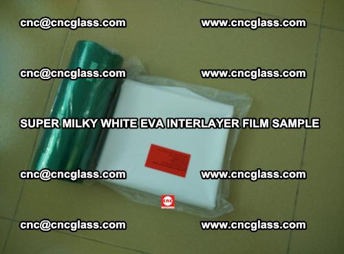 Super Milky White EVA FILM for safety glass, EVAVISION (76)