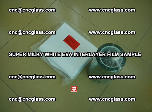 Super Milky White EVA FILM for safety glass, EVAVISION (8)