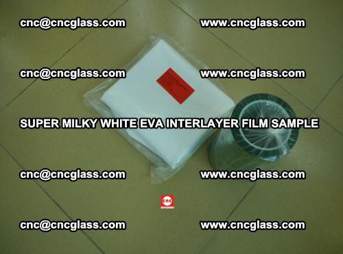 Super Milky White EVA FILM for safety glass, EVAVISION (9)