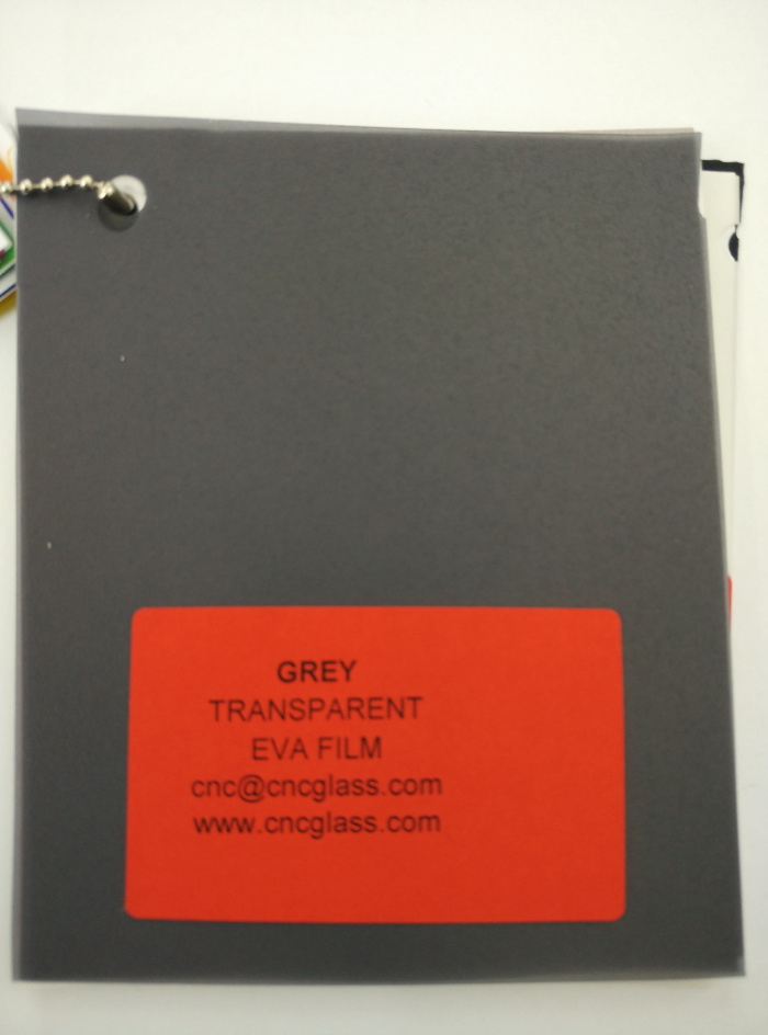 Grey Transparent Ethylene Vinyl Acetate Copolymer EVA interlayer film for laminated glass safety glazing (23)
