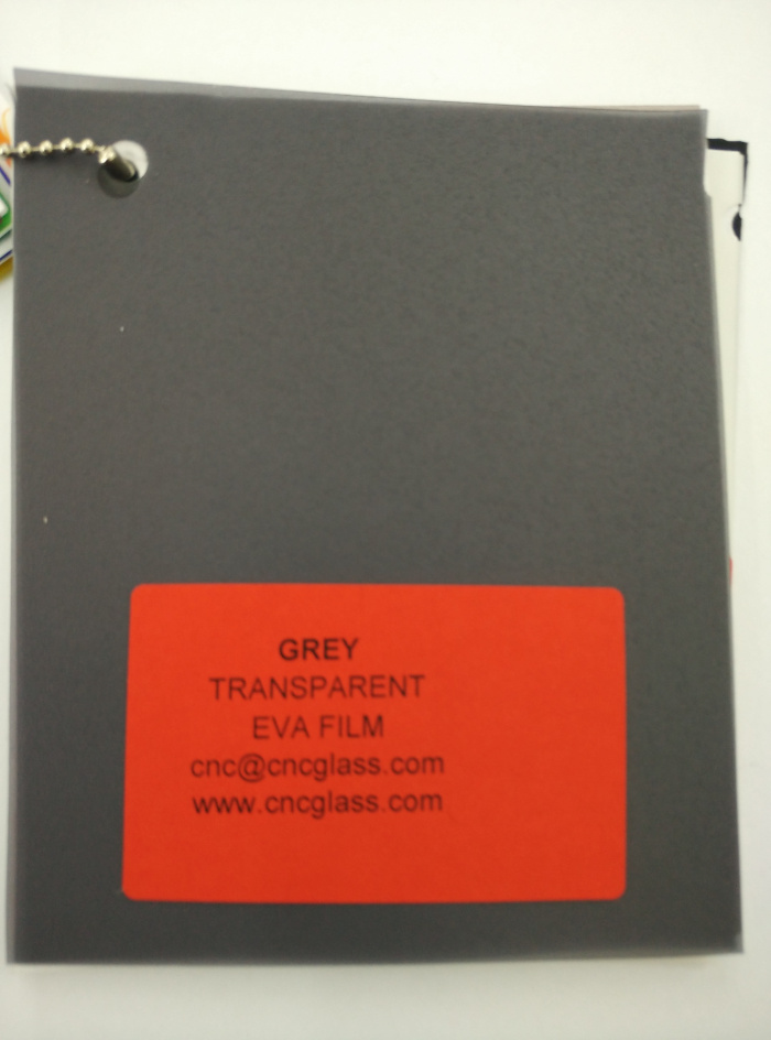 Grey Transparent Ethylene Vinyl Acetate Copolymer EVA interlayer film for laminated glass safety glazing (30)