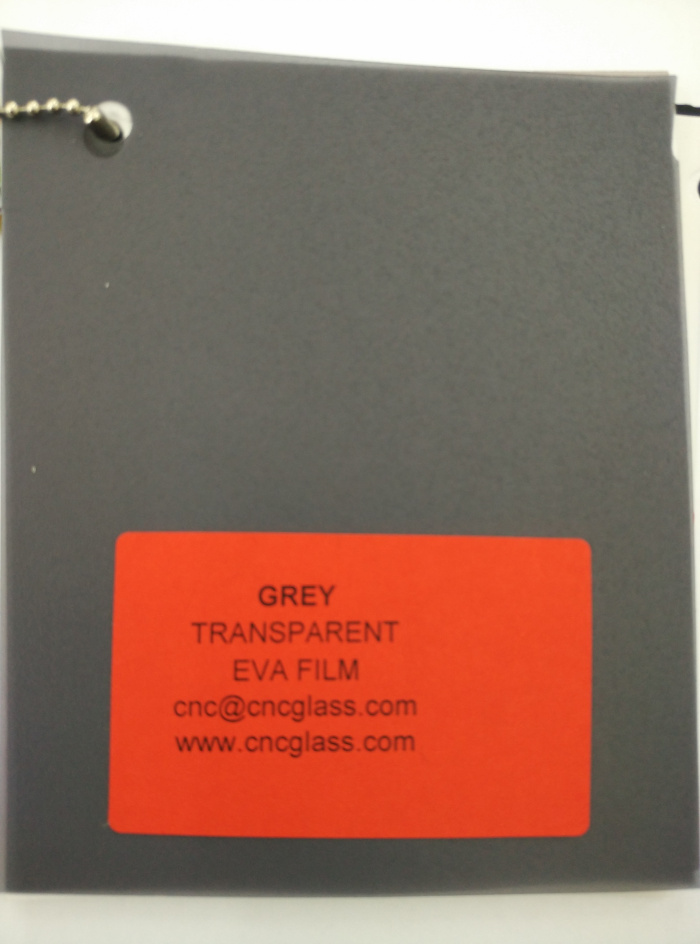 Grey Transparent Ethylene Vinyl Acetate Copolymer EVA interlayer film for laminated glass safety glazing (31)