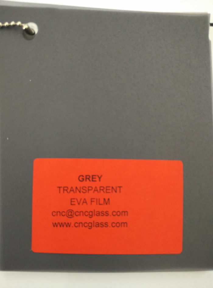 Grey Transparent Ethylene Vinyl Acetate Copolymer EVA interlayer film for laminated glass safety glazing (32)
