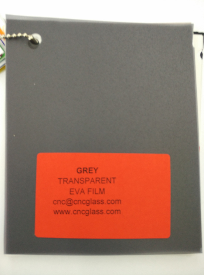 Grey Transparent Ethylene Vinyl Acetate Copolymer EVA interlayer film for laminated glass safety glazing (33)