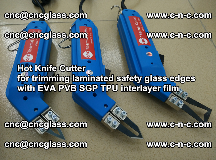 Hot Knife Cutter for trimming laminated safety glass edges with EVA PVB SGP TPU interlayer film (17)