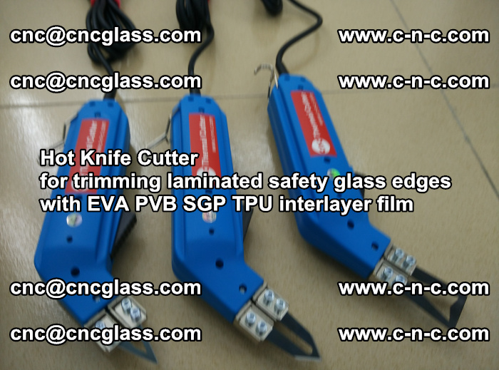 Hot Knife Cutter for trimming laminated safety glass edges with EVA PVB SGP TPU interlayer film (21)