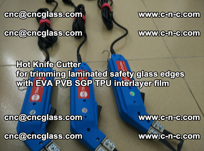 Hot Knife Cutter for trimming laminated safety glass edges with EVA PVB SGP TPU interlayer film (22)