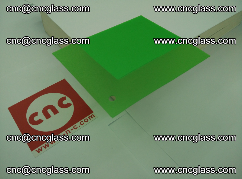 Eva glass laminating interlayer film foil (Light green clear eva) (1)