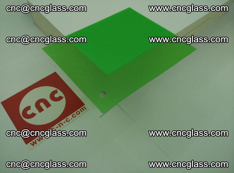 Eva glass laminating interlayer film foil (Light green clear eva) (12)