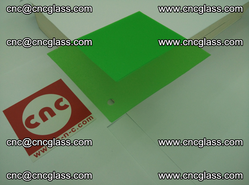 Eva glass laminating interlayer film foil (Light green clear eva) (13)