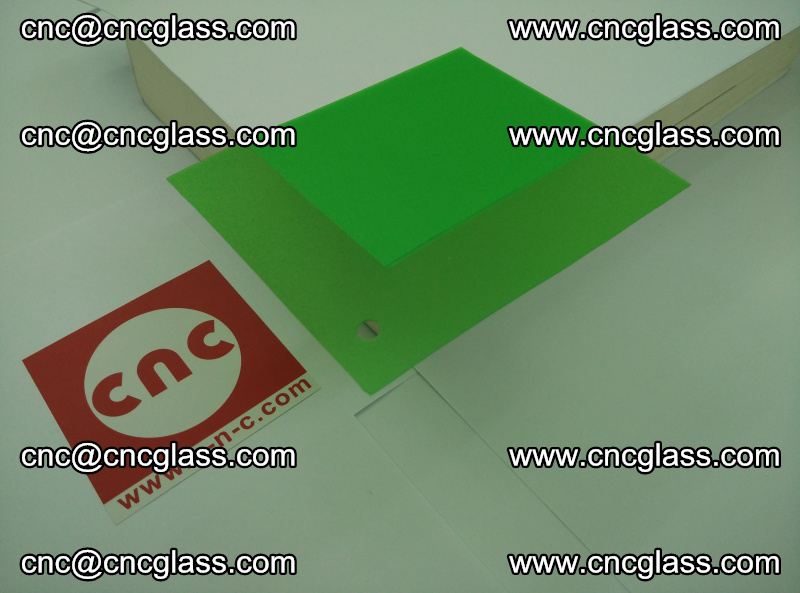Eva glass laminating interlayer film foil (Light green clear eva) (15)