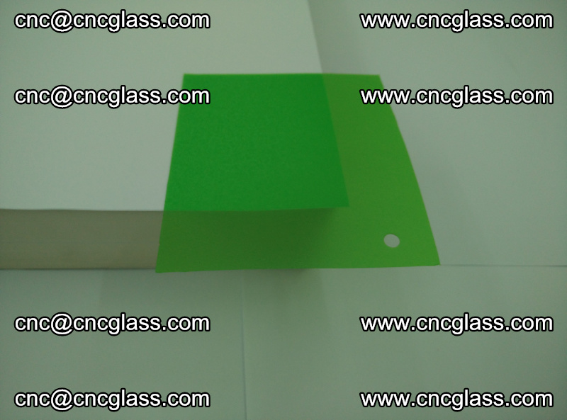 Eva glass laminating interlayer film foil (Light green clear eva) (2)
