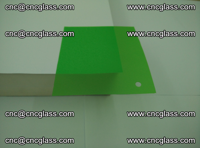 Eva glass laminating interlayer film foil (Light green clear eva) (3)
