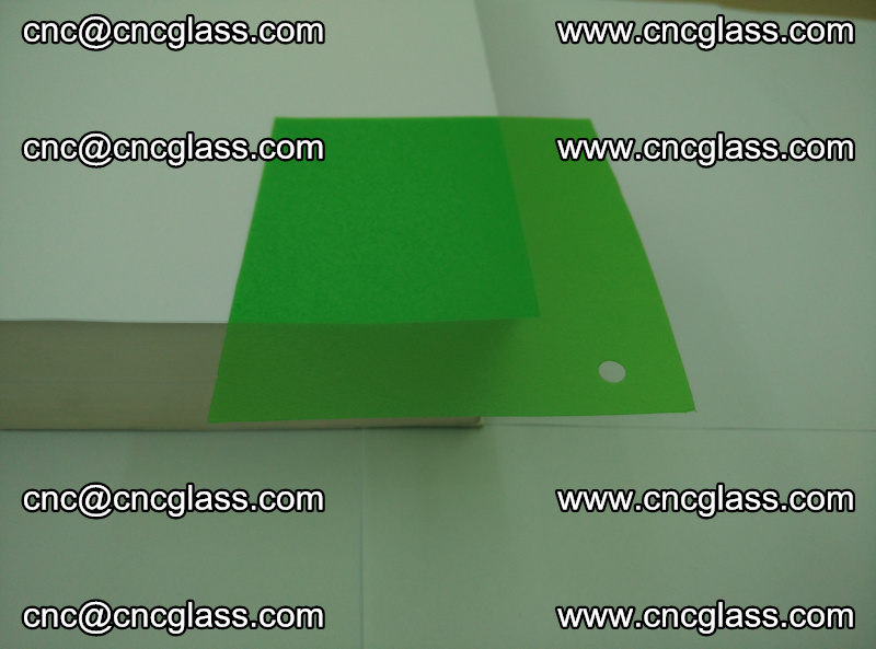 Eva glass laminating interlayer film foil (Light green clear eva) (4)
