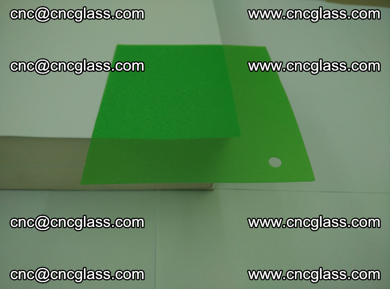 Eva glass laminating interlayer film foil (Light green clear eva) (6)