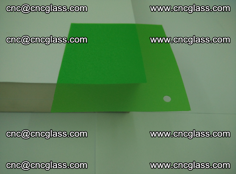 Eva glass laminating interlayer film foil (Light green clear eva) (7)