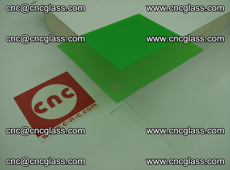 Eva glass laminating interlayer film foil Light green transparent color (12)