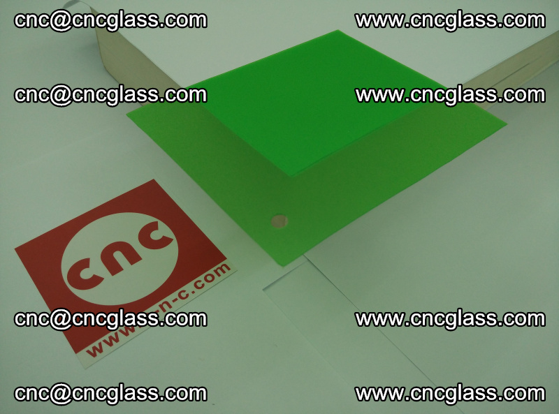 Eva glass laminating interlayer film foil Light green transparent color (14)