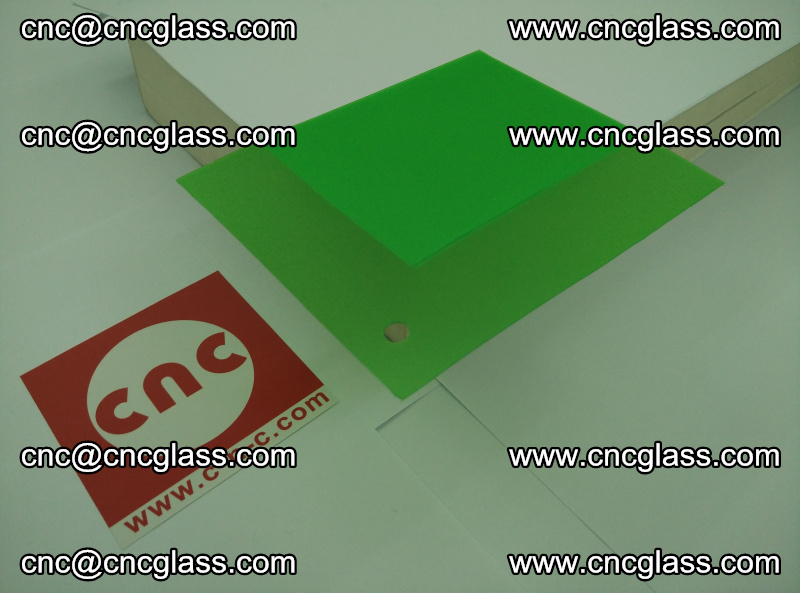 Eva glass laminating interlayer film foil Light green transparent color (15)