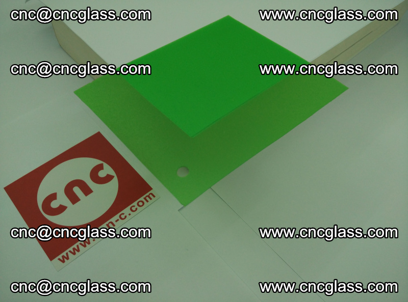 Eva glass laminating interlayer film foil Light green transparent color (19)