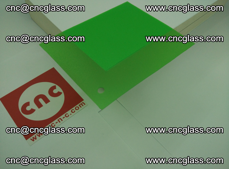 Eva glass laminating interlayer film foil Light green transparent color (20)