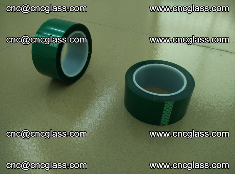 Eva glass laminating interlayer film foil (PET GREEN TAPE accessories for safety glazing) (1)