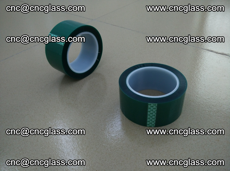 Eva glass laminating interlayer film foil (PET GREEN TAPE accessories for safety glazing) (10)