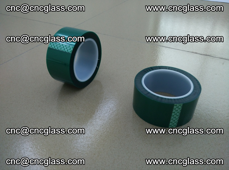 Eva glass laminating interlayer film foil (PET GREEN TAPE accessories for safety glazing) (2)