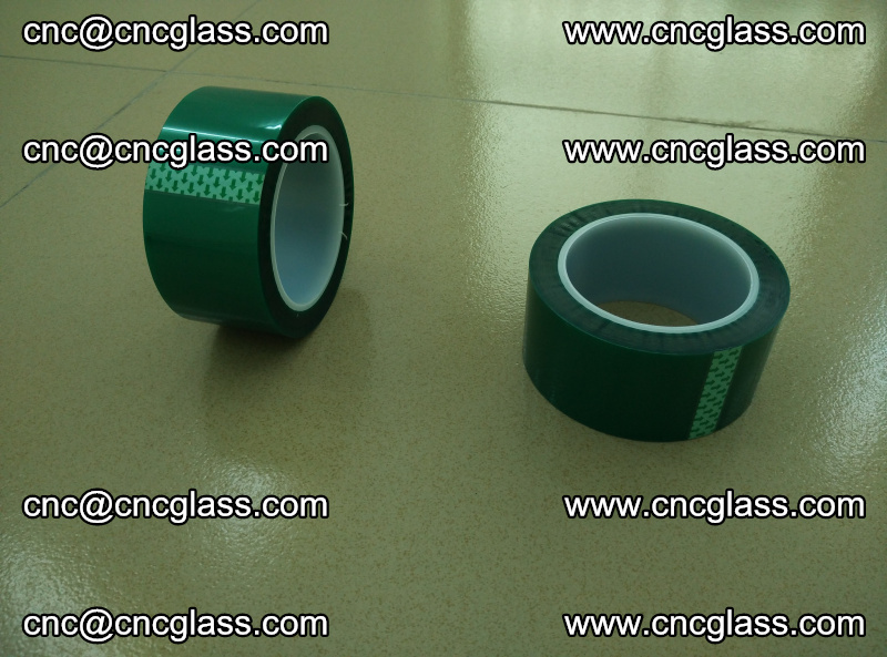 Eva glass laminating interlayer film foil (PET GREEN TAPE accessories for safety glazing) (4)