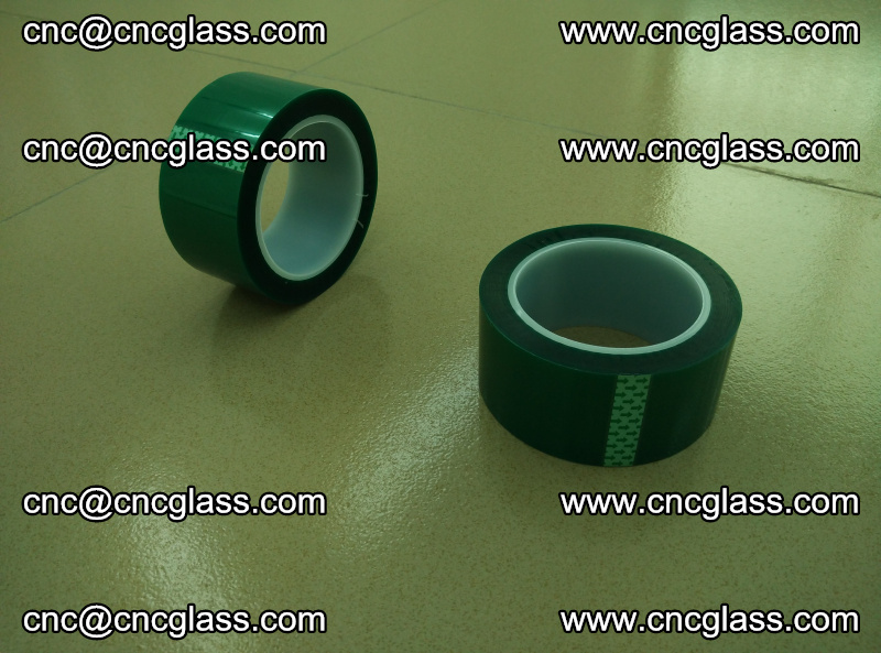 Eva glass laminating interlayer film foil (PET GREEN TAPE accessories for safety glazing) (7)