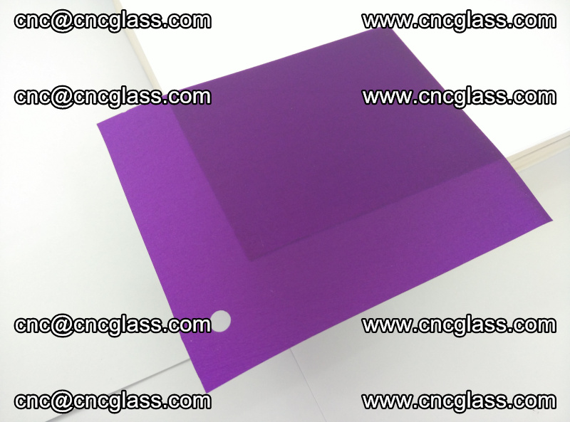 Eva glass laminating interlayer film foil (Purple clear eva) (3)