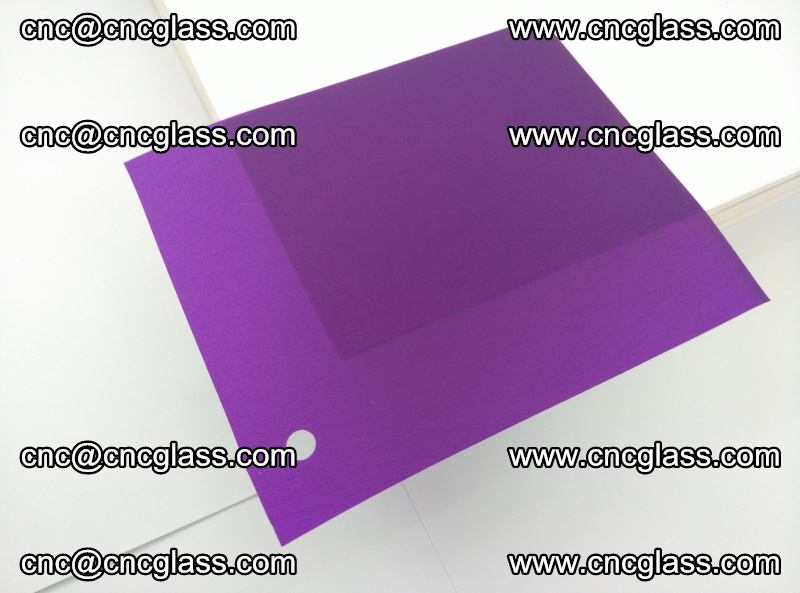 Eva glass laminating interlayer film foil (Purple clear eva) (4)