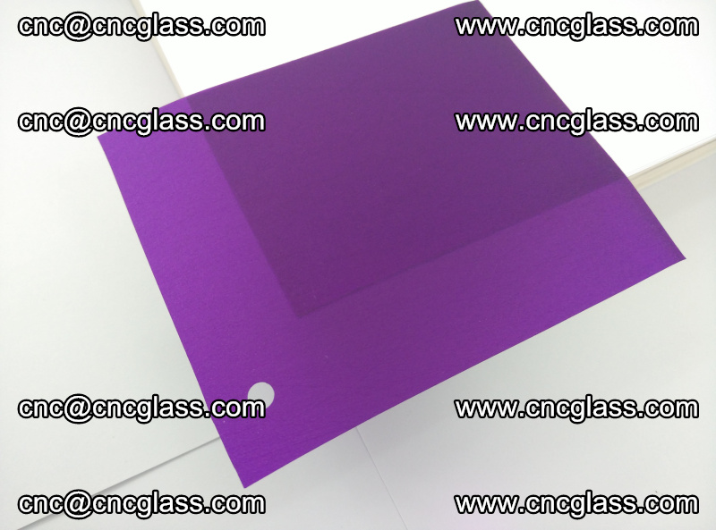 Eva glass laminating interlayer film foil (Purple clear eva) (5)