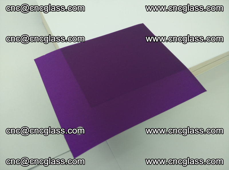 Eva glass laminating interlayer film foil (Purple clear eva) (6)