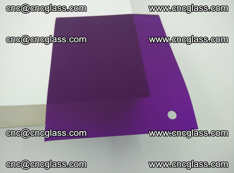 Eva glass laminating interlayer film foil (Purple clear eva) (7)