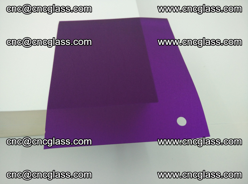 Eva glass laminating interlayer film foil (Purple clear eva) (8)