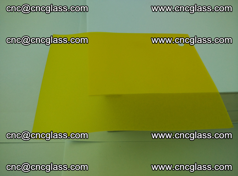 Eva glass laminating interlayer film foil (clear lemon yellow eva) (15)