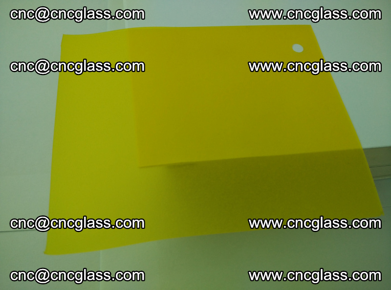 Eva glass laminating interlayer film foil (clear lemon yellow eva) (3)