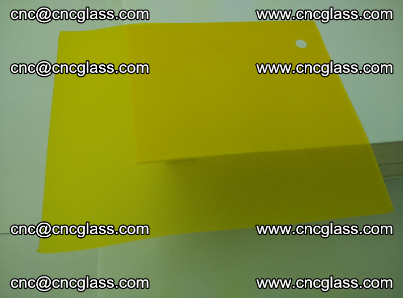 Eva glass laminating interlayer film foil (clear lemon yellow eva) (7)