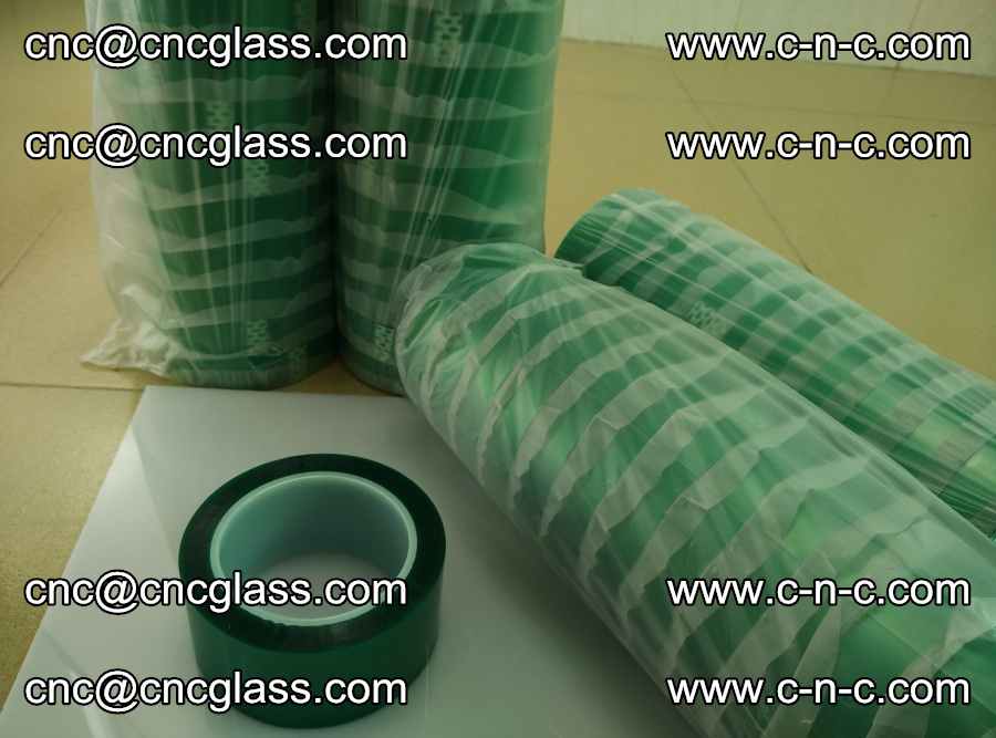 PET GREEN TAPE for safety glazing EVA PVB SGP 20150428 (50)
