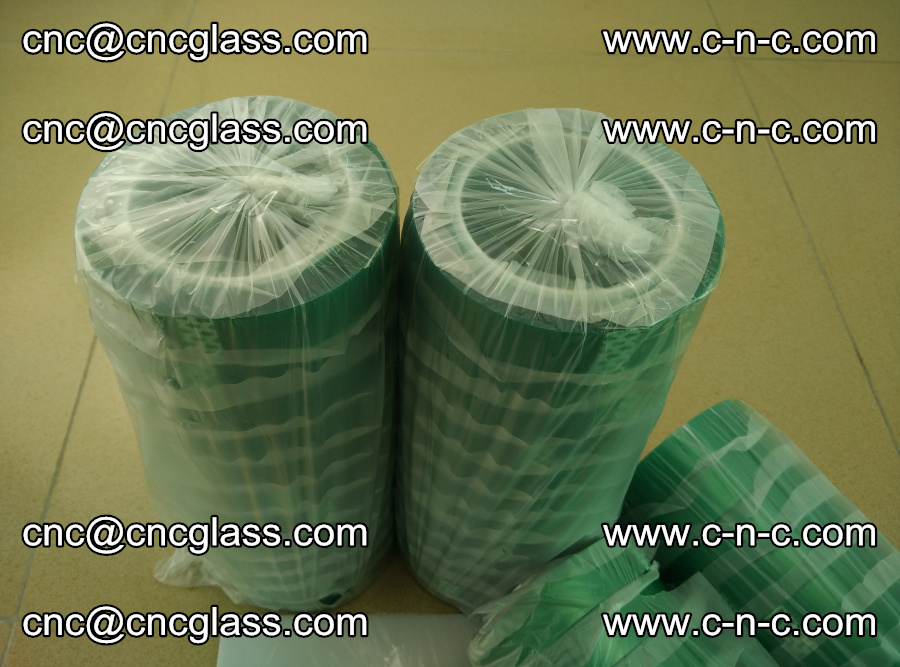 PET GREEN TAPE for safety glazing EVA PVB SGP 20150428 (57)