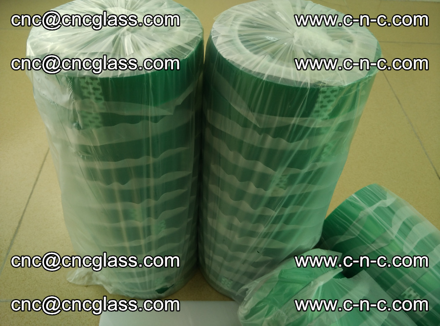 PET GREEN TAPE for safety glazing EVA PVB SGP 20150428 (59)