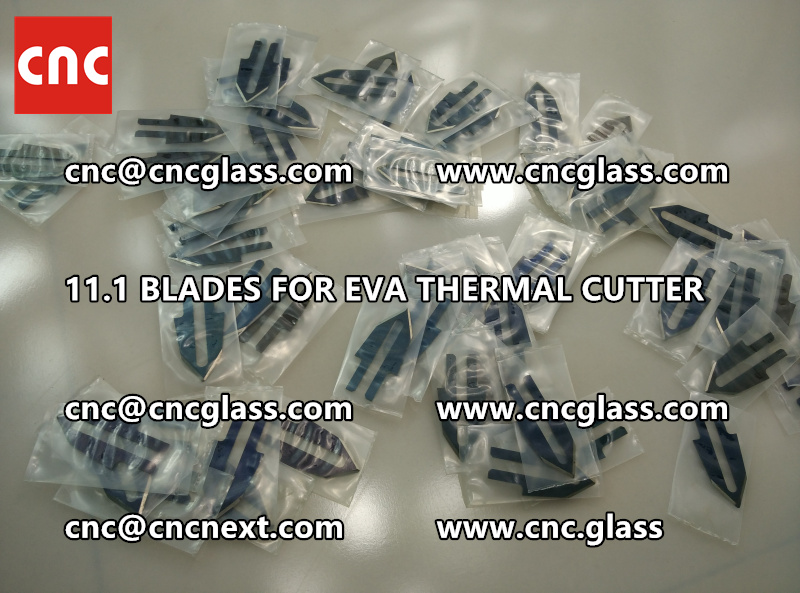 BLADES 11.1 of hot knife heating cutter trimming laminated glass edges remains (1)