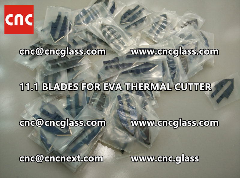 BLADES 11.1 of hot knife heating cutter trimming laminated glass edges remains (2)