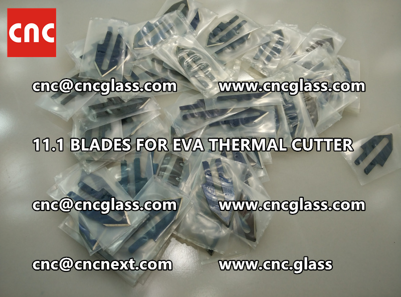 BLADES 11.1 of hot knife heating cutter trimming laminated glass edges remains (4)