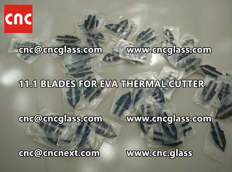 BLADES 11.1 of hot knife heating cutter trimming laminated glass edges remains (5)