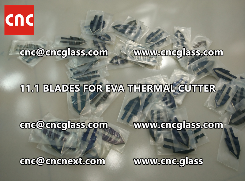 BLADES 11.1 of hot knife heating cutter trimming laminated glass edges remains (6)