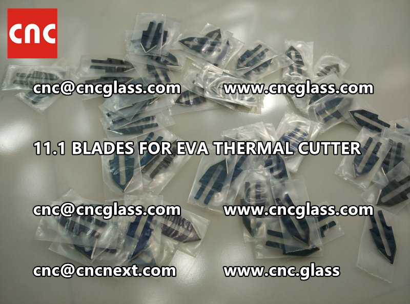 BLADES 11.1 of hot knife heating cutter trimming laminated glass edges remains (7)